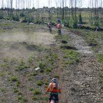KTM Motorcycles climbing Enduro track