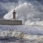 Wild Ocean in Porto lighthouse