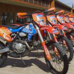 brand new KTM dirtbikes